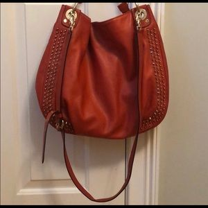 Red leather Rebecca Minkfoff